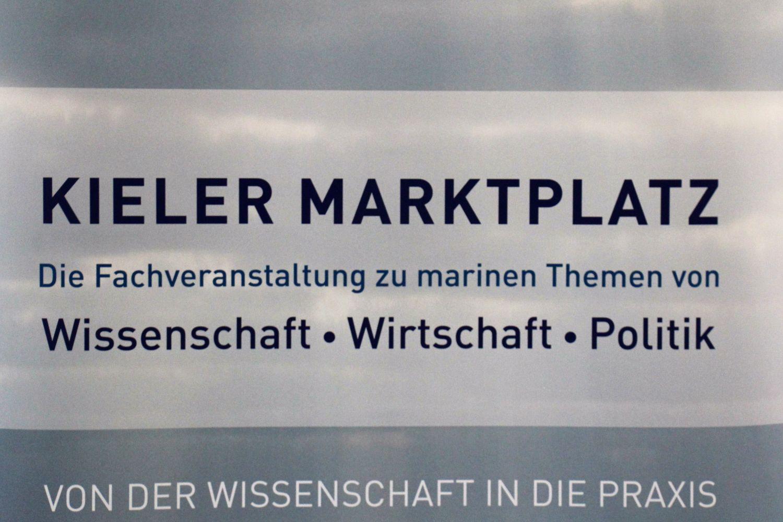Plakat Kieler Marktplatz