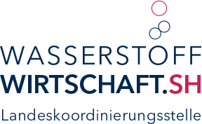 Logo Wasserstoff Wirtschaft.SH. Landeskoordinierungsstelle
