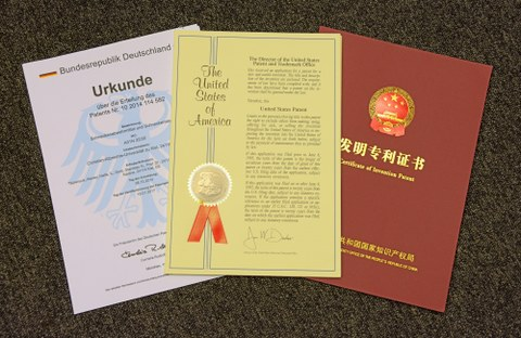 patent letters